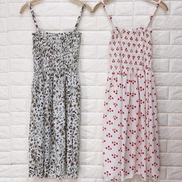 Váy hoa 2 dây