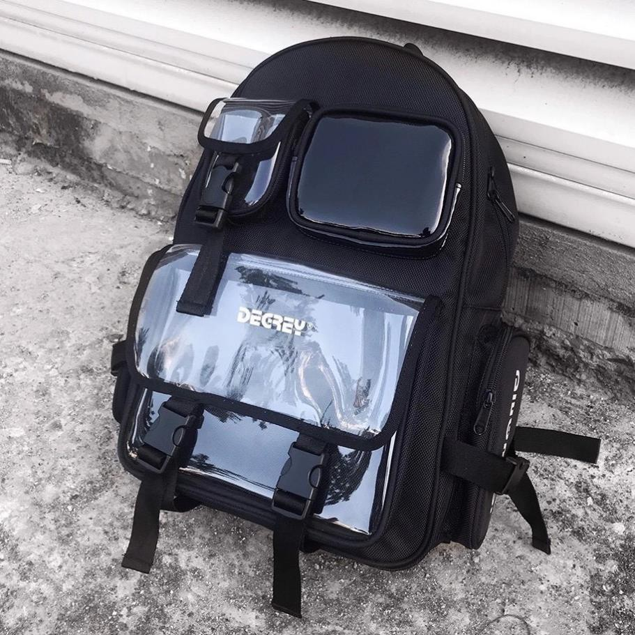 [Tặng móc khóa + sticker] Balo Degrey Basic Backpack - Ba lô nam nữ XUBL032
