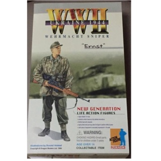 "1/6 World War 2 Ukraine Sniper ""Ernst"""