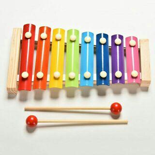 Đồ chơi gỗ đàn mộc cầm Xylophone 8 nốt