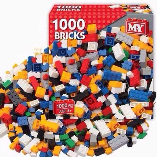 {Shopee trợ giá} LEGO 1000 CHI TIẾT LOẠI 1 NHỰA AN TOÀN