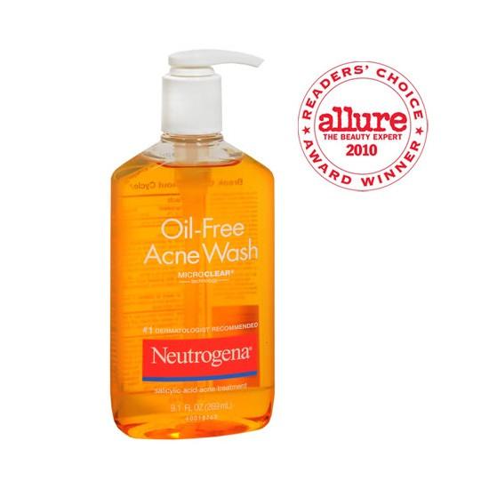 Sửa Rửa Mặt Neutrogena Oil Free Acne Wash