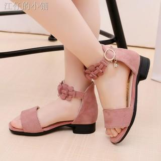 Giày sandal cao gót thiết kế xinh xắn cho bé
