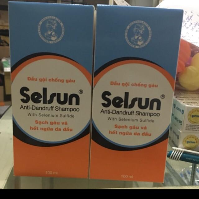 Dầu gội selsun trị gàu hiệu quả (. Chai 100ml )
