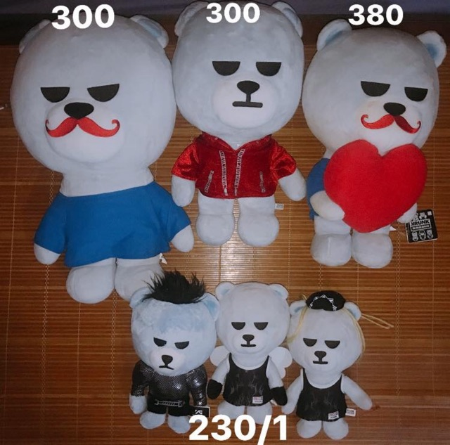 Doll KRUNK X BIGBANG OFFICIAL
