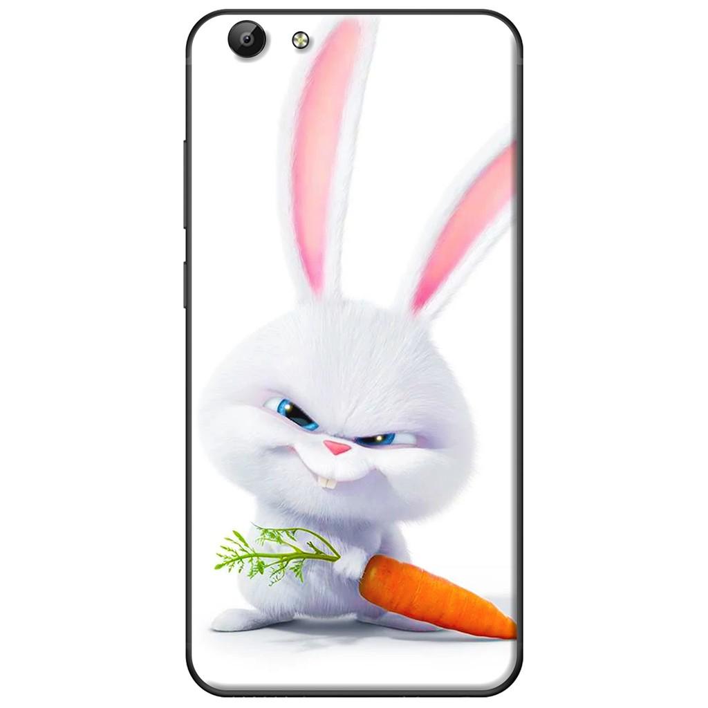 Ốp lưng Vivo Y69/Y55/Y53/V5/V5 Plus - nhựa dẻo Thỏ cà rốt