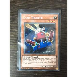 Thẻ bài Yugioh Card Trooper – Secret Rare – Tặng kèm bọc bài