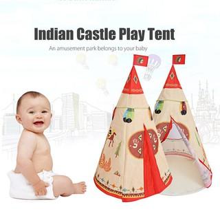 Wigwam Teepee Tent Baby Play Tent Garden Game Child Kids Garden Indoor