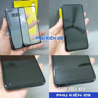 [Samsung S10E] Kính cường lực FULL màn FULL keo Glass Pro+ 9H