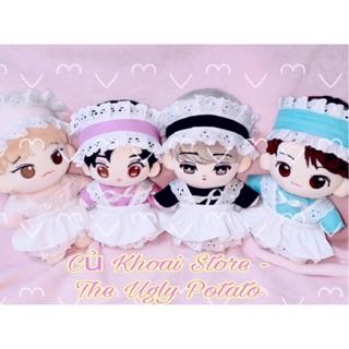 [15-20cm] Bộ maid cho doll – Váy cho doll – Outfit cho doll