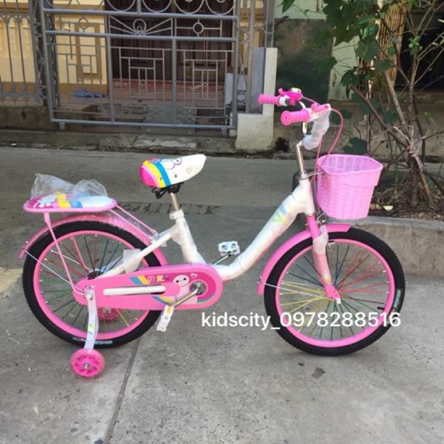Xe đạp cho bé (bánh 12, 14, 16, 18, 20) xe rất chắc chắn (Được hỗ trợ vận chuyển 40k của shopee)