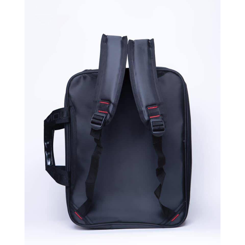 {MẪU MỚI} cặp học sinh cao cấp kiểu hình học (đen) | SaleOff247