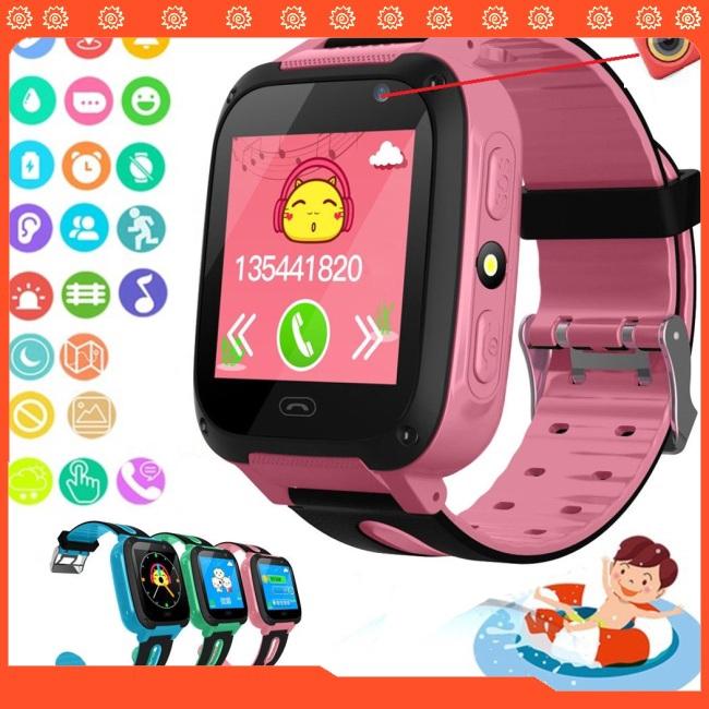 Đồng hồ thông minh SOS định vị GPS tránh lạc trẻ cho Android iOS