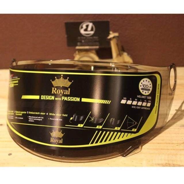 Kính mũ bảo hiểm Fullface Royal M136