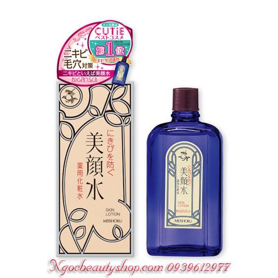 Nước Hoa Hồng Nhật Bản - Lotion Meishoku Bigansui Medicated Skin đặc trị mụn 80ml - 2633129 , 390683618 , 322_390683618 , 185000 , Nuoc-Hoa-Hong-Nhat-Ban-Lotion-Meishoku-Bigansui-Medicated-Skin-dac-tri-mun-80ml-322_390683618 , shopee.vn , Nước Hoa Hồng Nhật Bản - Lotion Meishoku Bigansui Medicated Skin đặc trị mụn 80ml