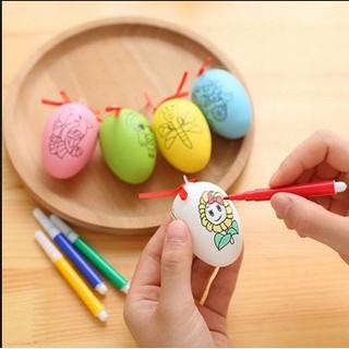 Bộ đồ chơi 10 quả trứng tô màu cho bé mới nhất