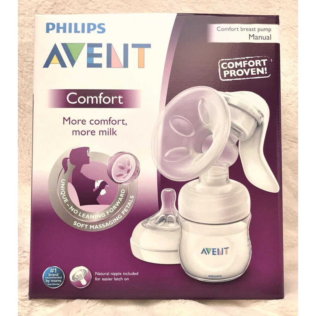 Bộ hút sữa bằng tay Avent Comfort