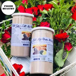 💟💟 Bột Gạo Lức Mè Đen Nếp Cẩm Giảm Cân Lợi Sữa 500g