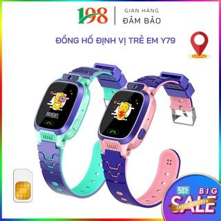 Đồng Hồ Trẻ Em Đồng Hồ Định Vị Trẻ Em Y79 Đàm Thoại Hai Chiều, Nút gọi SOS Có App để bố mẹ quản lý và theo dõi thumbnail