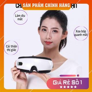 [HÀNG CHÍNH HÃNG] Máy Massage Mắt Bluetooth Thông Minh Công Nghệ Khí Nén Giúp Xoa dịu cơn mỏi mắt, giảm thâm quầng