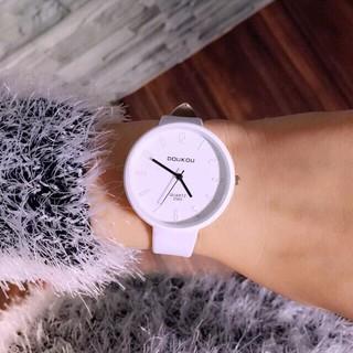 Đồng hồ nữ Doukou mặt số đơn giản thanh lịch thumbnail
