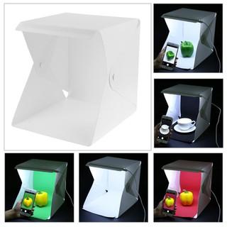 2G05 Hộp chụp ảnh sản phẩm 2 dàn led ánh sáng trắng bảo hành 6 tháng thumbnail