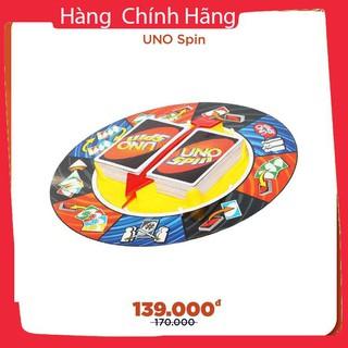 Trò chơi giải trí gia đình cờ Uno Spin giá rẻ_Hàng tốt