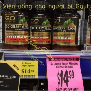 (Bill Úc) Viên uống cho người bị Gout – Celery 16000_60viên