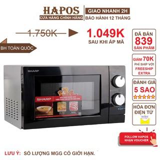 Lò Vi Sóng Cơ Sharp 20L (Bạc) – HAPOS Phân phối chính hãng