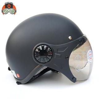 Mũ bảo hiểm nửa đầu Sunda 136A mẫu mới (nhiều màu)