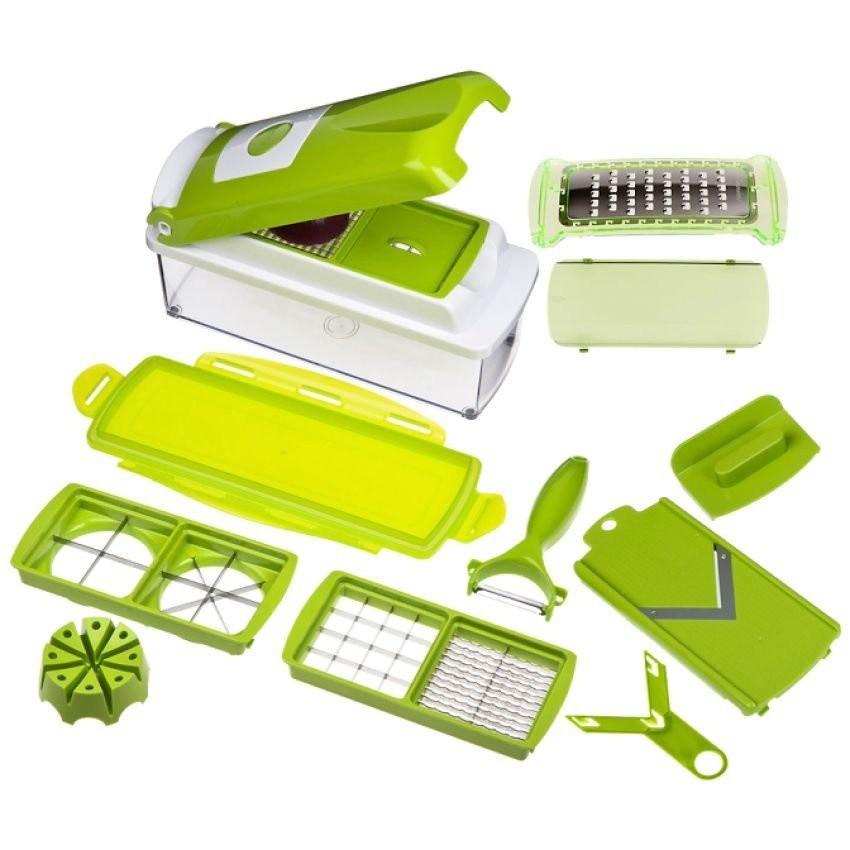 Bộ dụng cụ cắt gọt rau củ quả đa năng (Xanh lá)