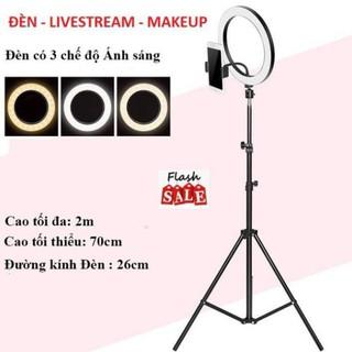 Đèn Livestream, Đèn Makeup – Đèn Chụp Ảnh 26cm Siêu Nét Hot 2020