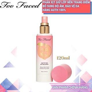 Xịt khoá nền make up Too Faced - Peach Mist 120ml [Chai lớn] - Hàng Chính Hãng thumbnail