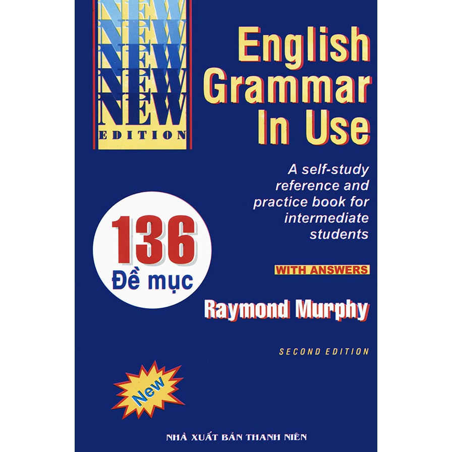 Sách English Grammar in use - Second edition - Raymond Murphy