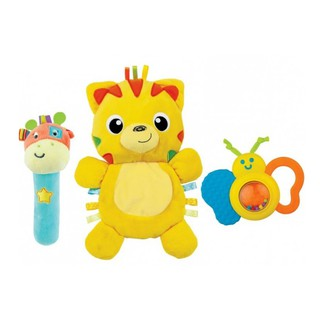 Set 3 đồ chơi cầm tay xúc xắc chíp chíp, hổ gặm nướu sột soạt Winfun 3027 thumbnail
