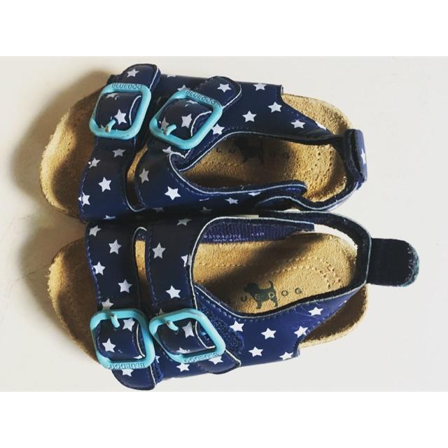 Giày si sandal hàn quốc Bluedog cho bé (có video)