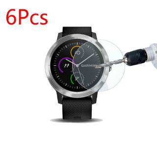 6 Pcs Garmin  Fenix 5 / 5x / 5s / 5 Plus / 5x Plus /  5s Plus /  3 / 3 HR Tempered Glass Protective Film Guard