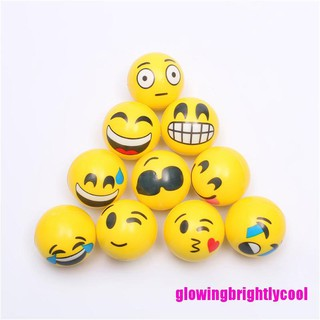 Gbvn 6.3cm Stress Ball Novetly Squeeze Ball Exercise Stress Ball PU Rubber Toy Adore