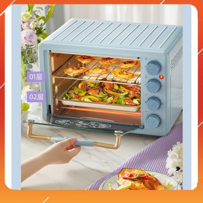 Lò nướng chính hãng Bear DKX-C20D1, dung tích 20 lít, dùng để nướng và quay thực phẩm