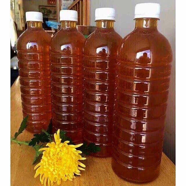 Mật ong rừng hoa cà phê Daklak 1lít hàng chuẩn 100% có giấy cam kết