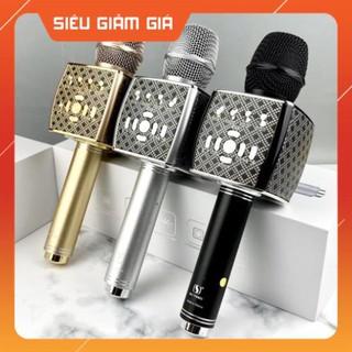 ⚡CHÍNH HÃNG⚡ Micro Karaoke YS 95 kết nối bluetooth Tích Hợp Loa Bass Không Dây Dùng Hát Tại Nhà Hoặc Livetream