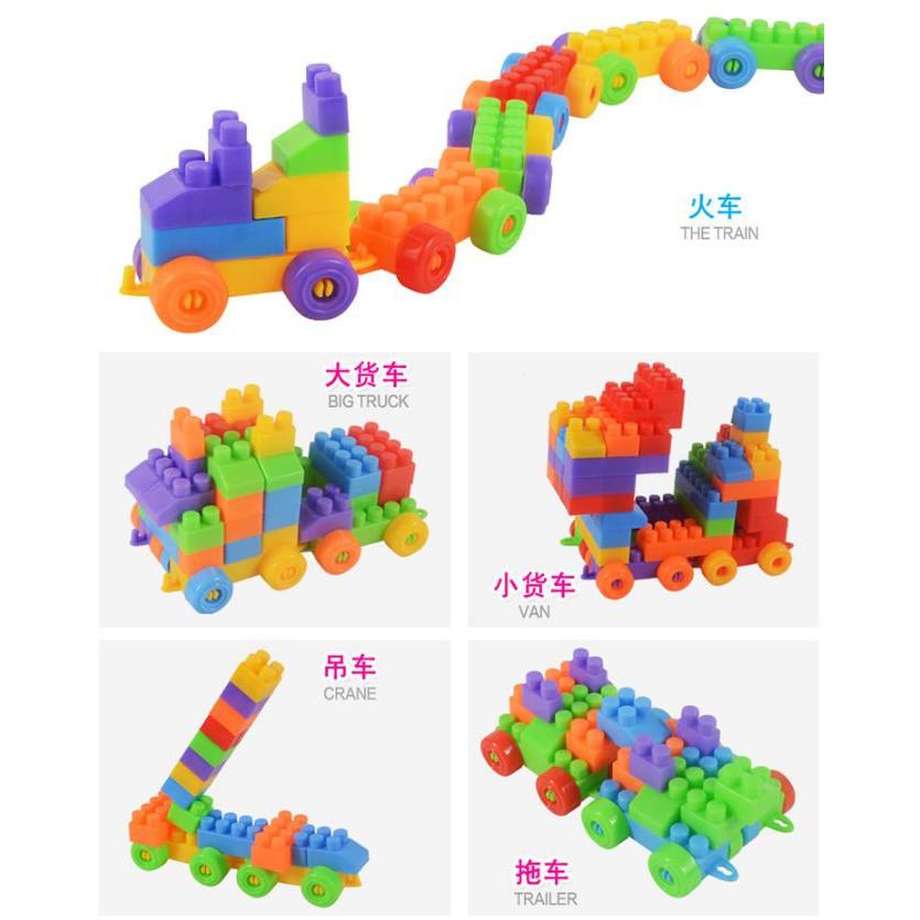 XẾP HÌNH LEGO 100 CHI TIẾT CHO BÉ