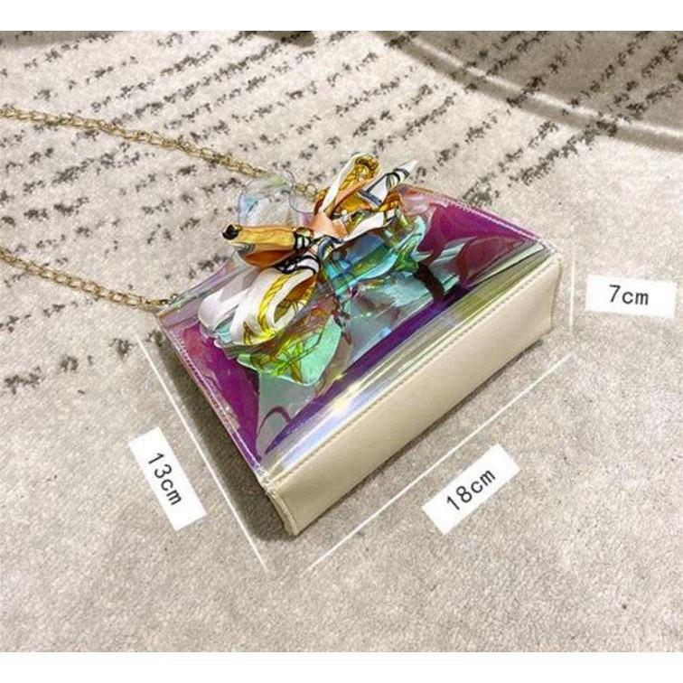 Túi xách nữ đeo chéo mini phong cách hàn quốc siêu xinh DC03 túi xách mini - Chip Xinh