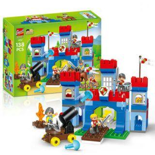 Hãng gorock- Bộ Lego Chiếm Thành Cổ Loa 138 chi tiết (tương thích duplo)
