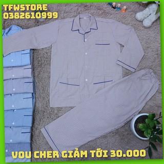 Bộ Mặc Nhà Cho Nam Trung Tuổi, Pijama Cho Ông, Cho Bố, Hàng VN