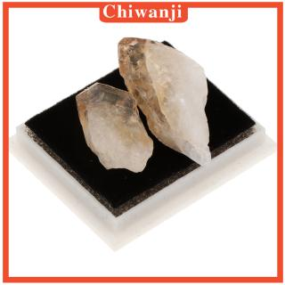 [CHIWANJI] Rocks and Minerals Collection Earth Science Teaching Tool – Citrine
