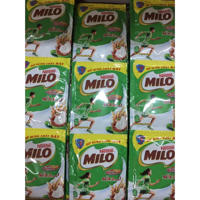 10 gói bột sữa Milo gói 15g - 3078615 , 373417592 , 322_373417592 , 20000 , 10-goi-bot-sua-Milo-goi-15g-322_373417592 , shopee.vn , 10 gói bột sữa Milo gói 15g