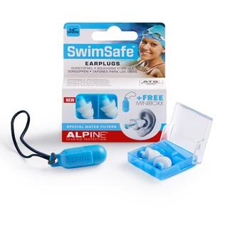 Hộp 1 đôi nút bịt tai đi bơi SwimSafe (Chống nước) thương hiệu Alpine - Nhập khẩu Hà Lan thumbnail
