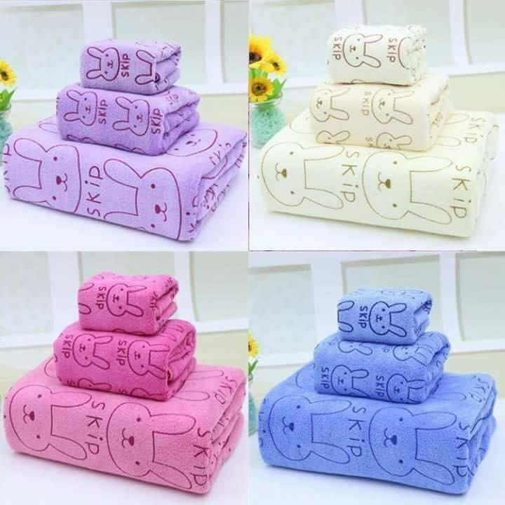 Set 3 khăn tắm Thái