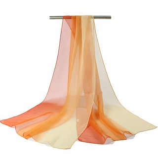 SFGHOUSE Chiffon Scarf Women Georgette Silk Scarves Shawl